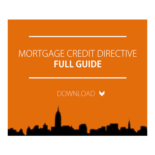 Mortgage Credit Directive 2016